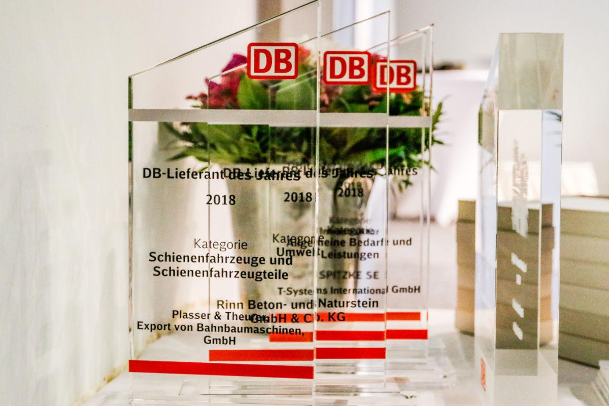 Deutsche Bahn zeichnet ihre besten Lieferanten aus ...