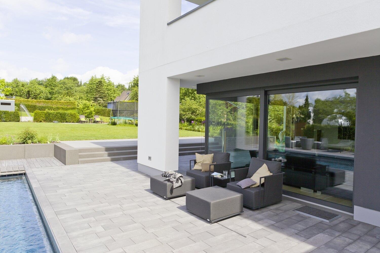Terrasse – Gestaltungsideen von Rinn Betonsteine und Natursteine
