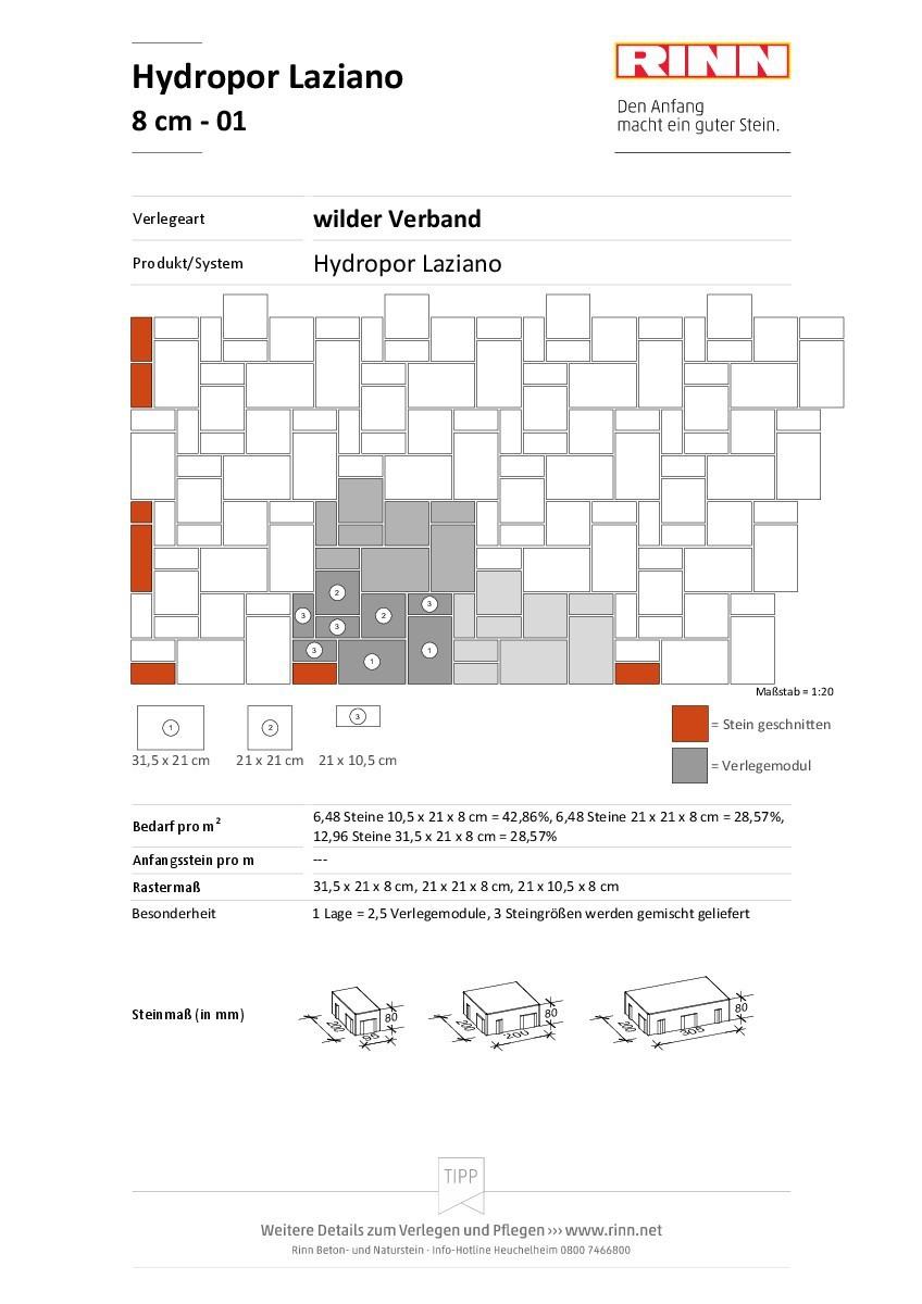 Hydropor Laziano|wilder Verband - 01