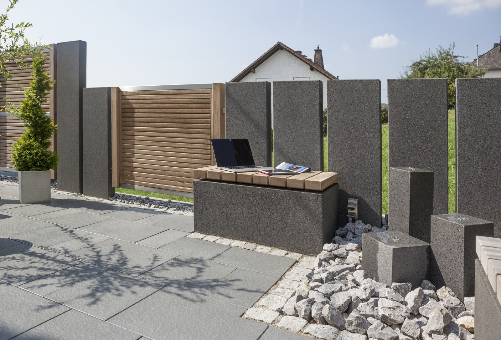 Intervallo Sitzblocke Von Rinn Betonsteine Und Natursteine