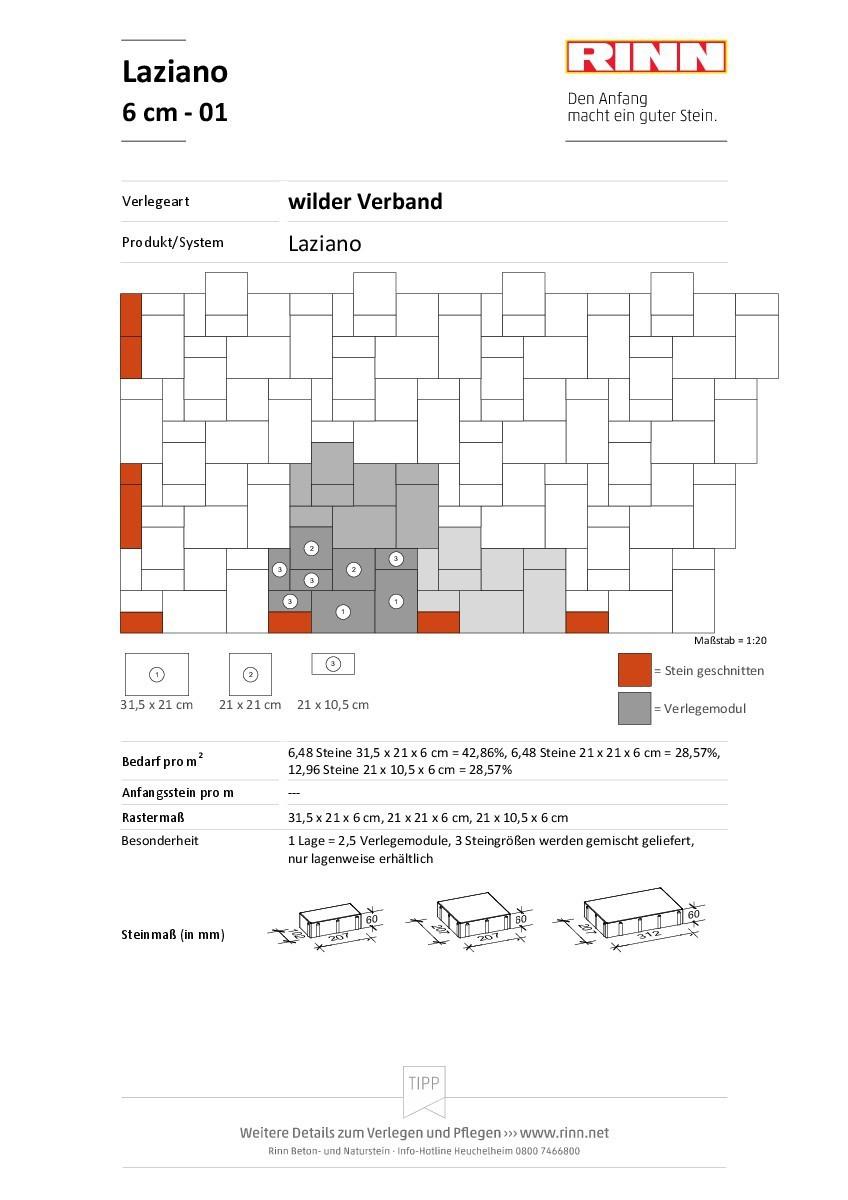 Laziano 6 cm|wilder Verband - 01