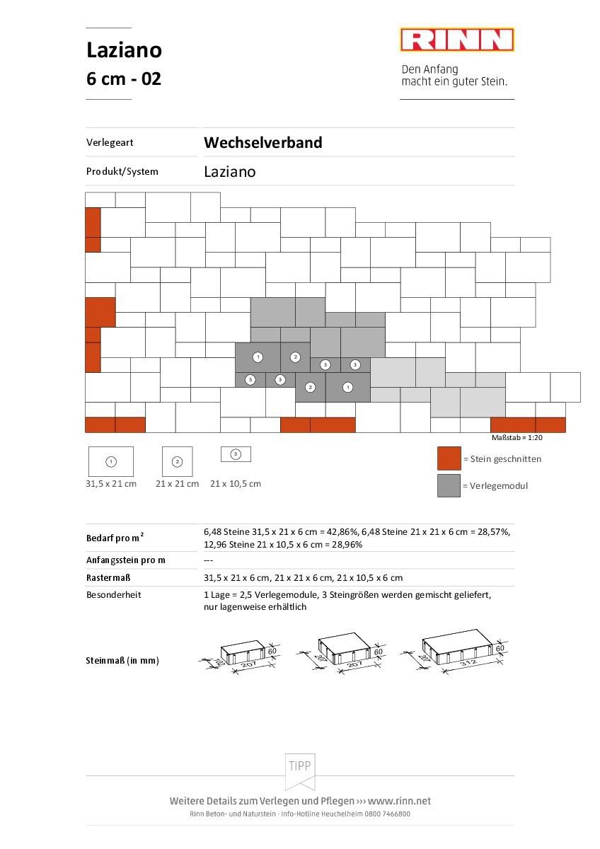 Laziano 6 cm|Wechselverband - 02
