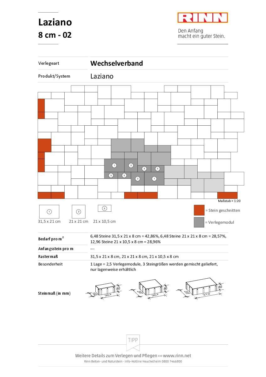 Laziano 8 cm|Wechselverband - 02
