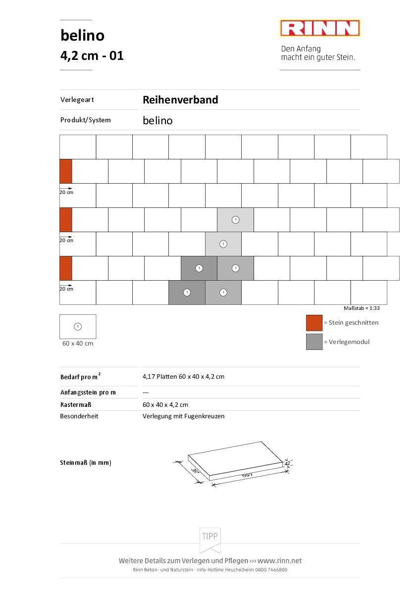 belino Platten|Reihenverband - 01