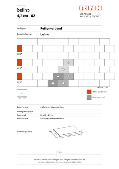 belino Platten|Reihenverband - 02