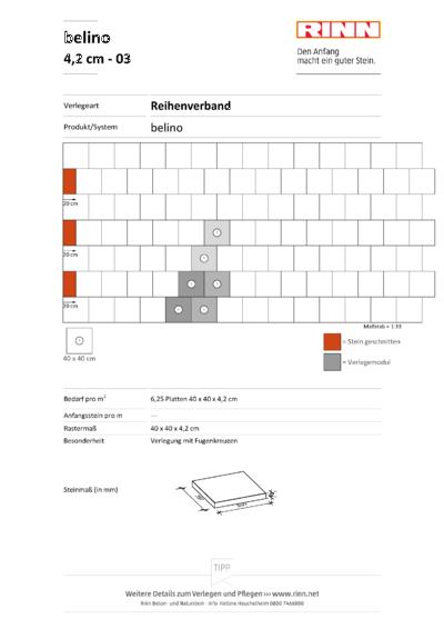 belino Platten|Reihenverband - 03