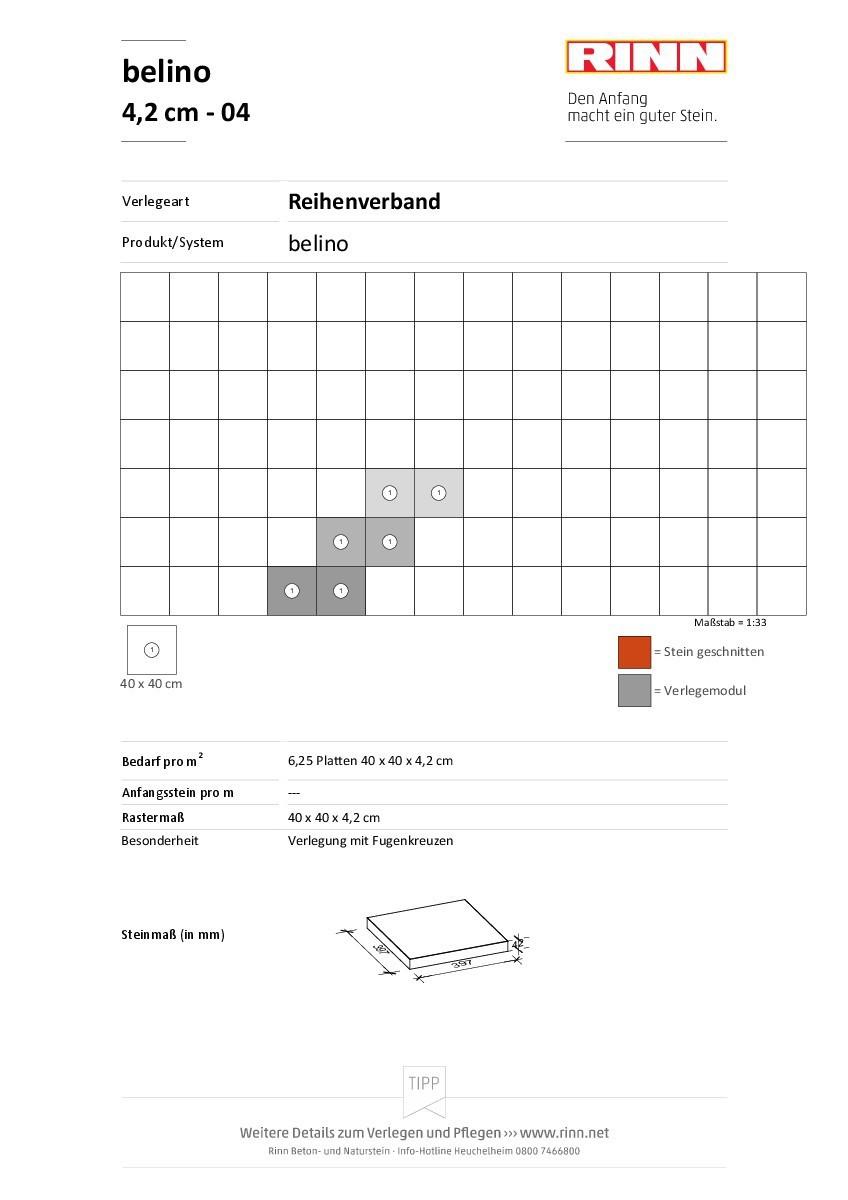 belino Platten|Reihenverband - 04