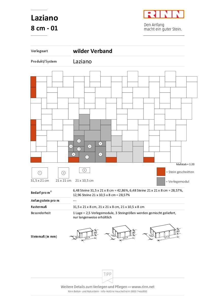 Laziano 8 cm|wilder Verband - 01
