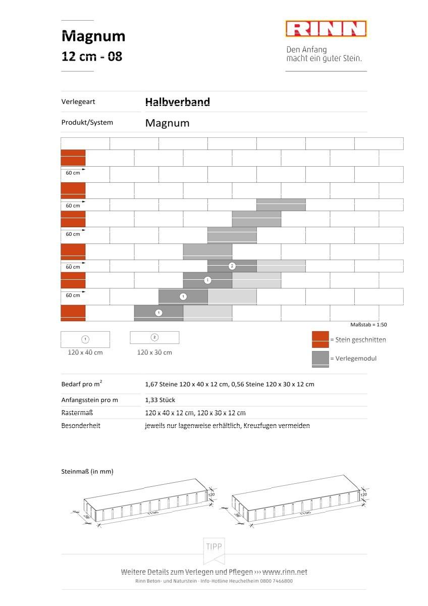 Magnum 12 cm|Halbverband - 08