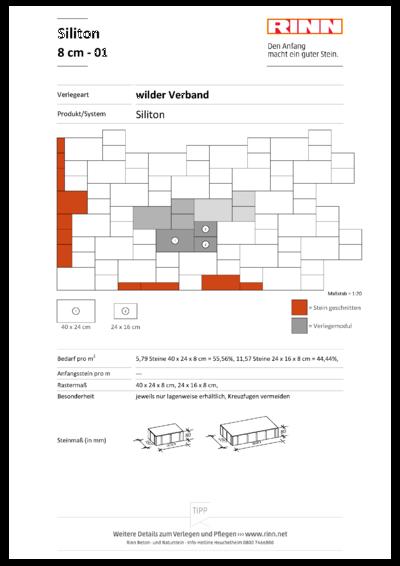 Siliton 8 cm|wilder Verband - 01