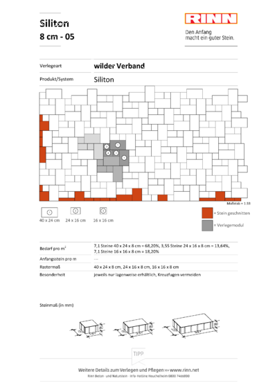 Siliton 8 cm|wilder Verband - 05