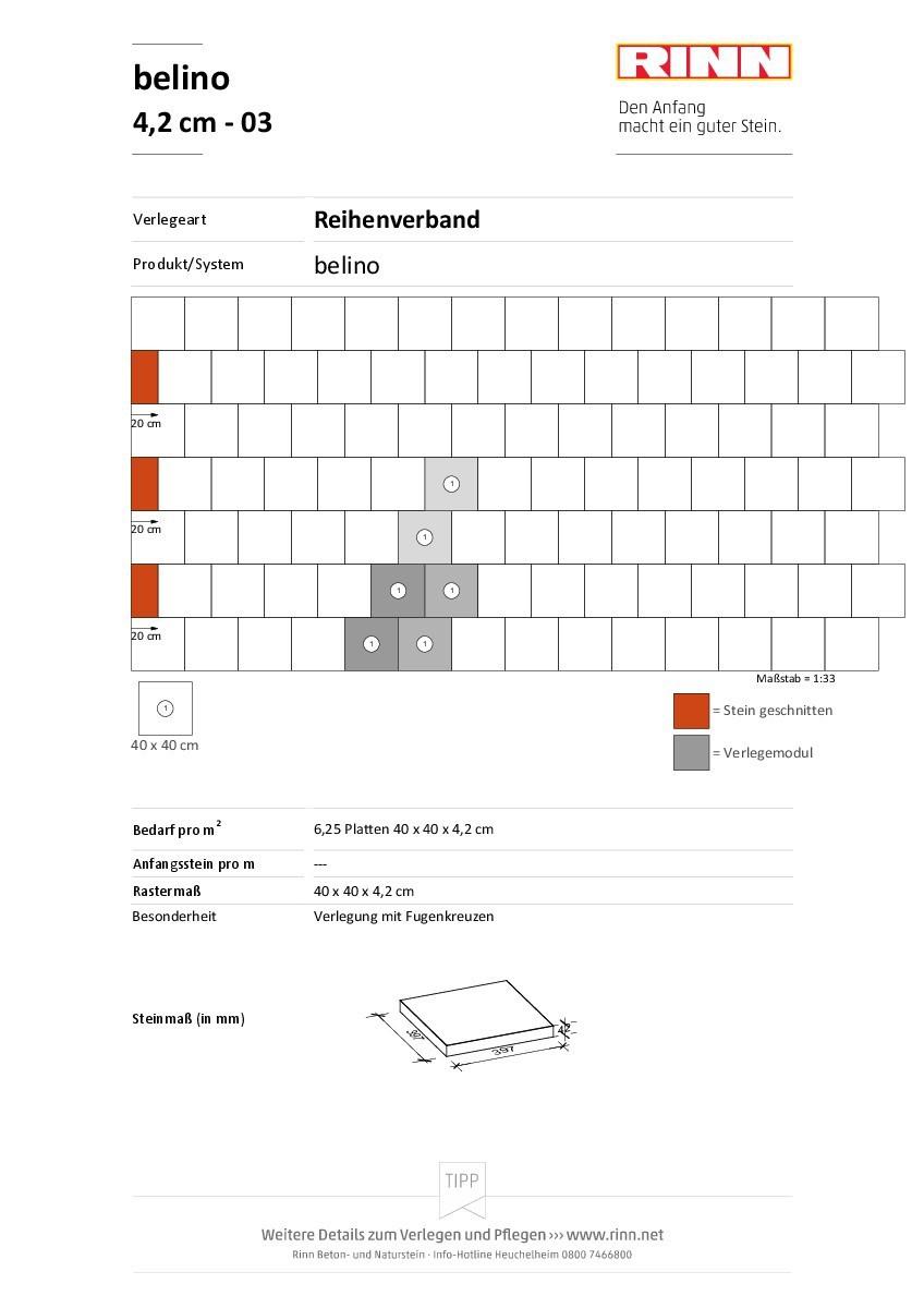 Terrassenplatten Belino Mit Grundschutz Von Rinn Betonsteine Und