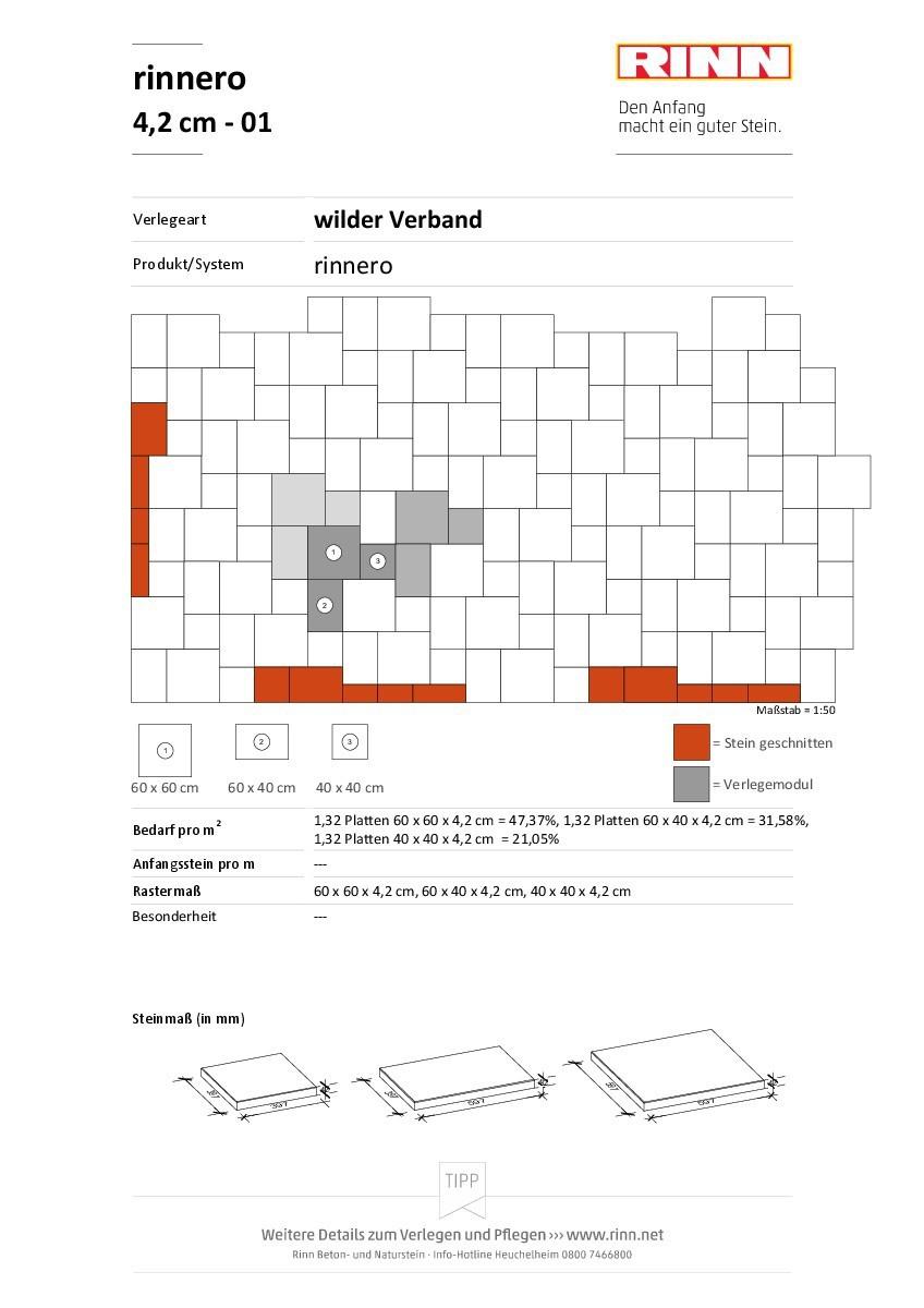 rinnero Platten|wilder Verband - 01